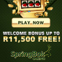 Springbok Casino on Gambling City - 100% to R1500 on 1st Deposit